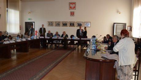 Zdjęcie z posiedzenia Rady Miejskiej