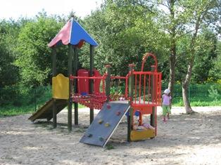 Plac zabaw przy ulicy Warszawskiej