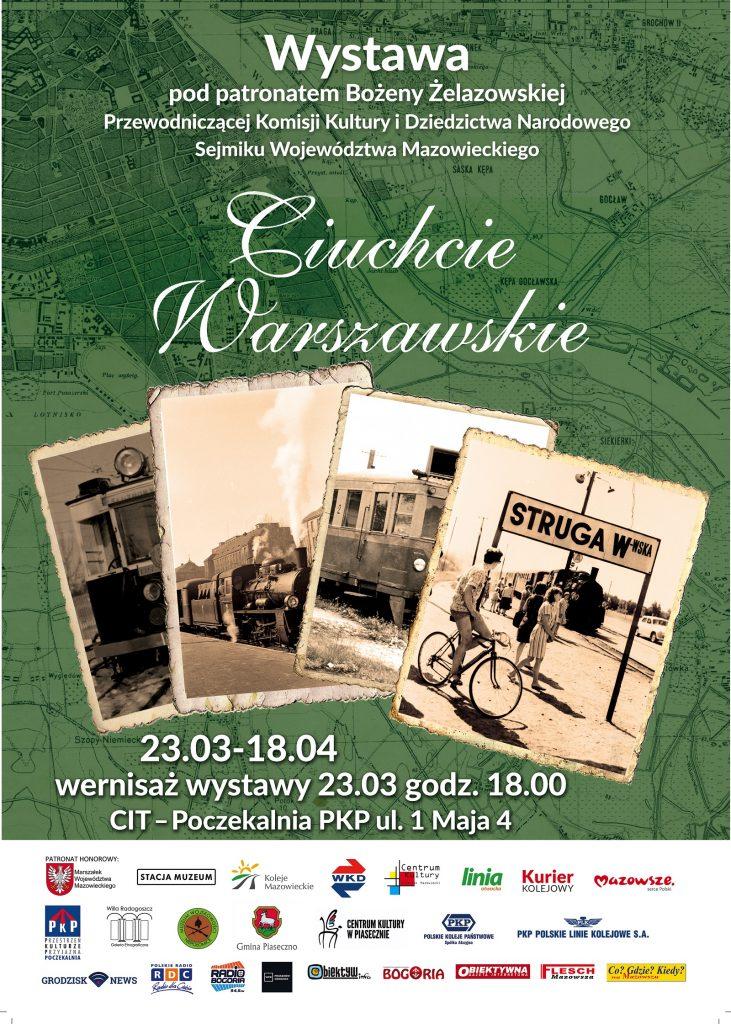 Wystawa Ciuchcie Warszawskie