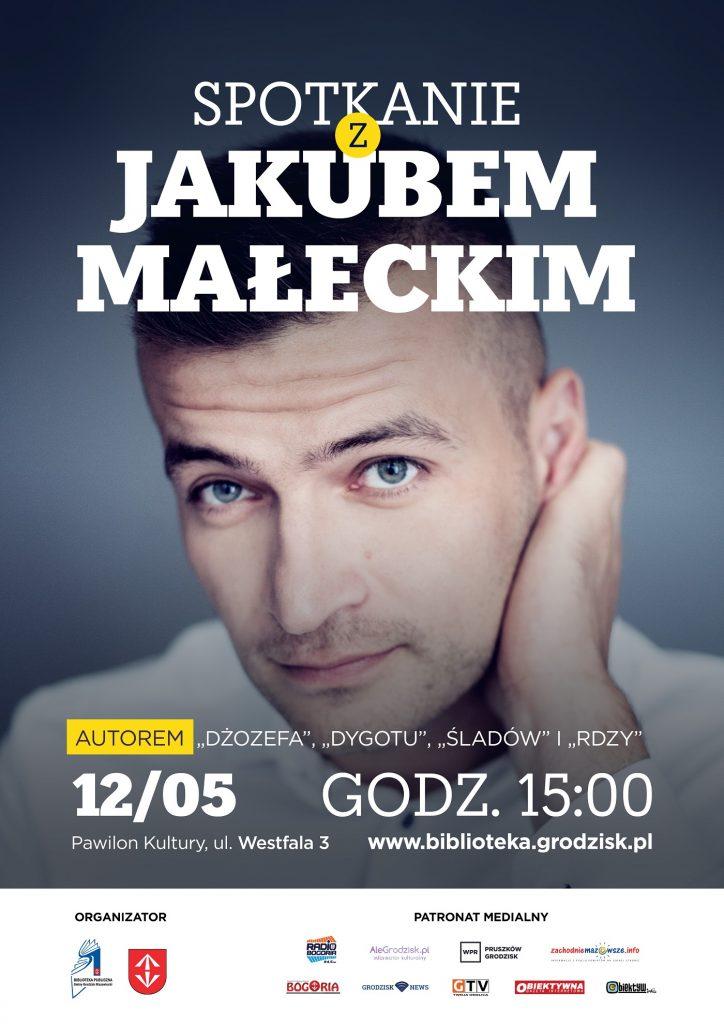 Spotkanie z Jakubem Małeckim