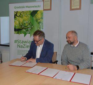 Park Mrowna podpisanie umowy