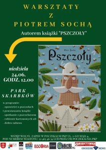 Pszczoły - spotkanie autorskie dla dzieci @ Park Skarbków