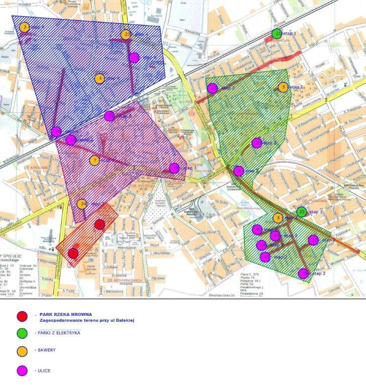 lokalizacja inwestycji zieleń