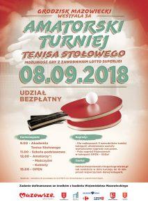 Amatorski Turniej Tenisa Stołowego @ Grodzisk Mazowiecki  | Grodzisk Mazowiecki | mazowieckie | Polska