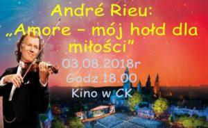 "André Rieu: ""Amore – mój hołd dla miłości"" @ Centrum Kultury"