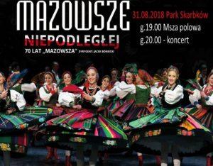 """Grodziskie obchody rocznicy odzyskania niepodległości oraz koncert pt. ,,Mazowsze Niepodległej"""" @ Park Skarbków"""