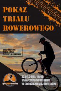 Pokaz TRIALU rowerowego na Stawach Walczewskiego @ Stawy Walczewskiego | Grodzisk Mazowiecki | mazowieckie | Polska