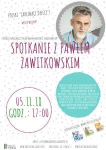 Spotkanie z Pawłem Zawitkowskim! @ Mediateka | Grodzisk Mazowiecki | mazowieckie | Polska