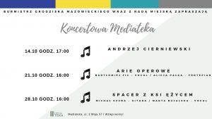 Koncertowa Mediateka @ Mediateka, sala koncertowa | Grodzisk Mazowiecki | mazowieckie | Polska