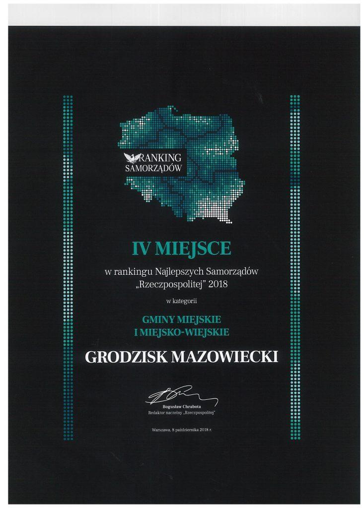 Dyplom ranking Rzeczpospolitej