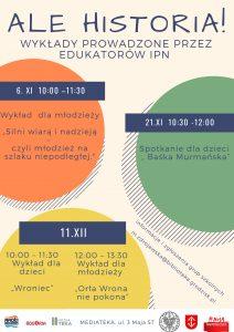 Wykład dla młodzieży #MojaNiepodległa @ Mediateka | Grodzisk Mazowiecki | mazowieckie | Polska