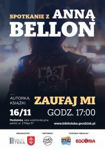 Spotkanie autorskie z Anną Bellon @ Mediateka | Grodzisk Mazowiecki | mazowieckie | Polska