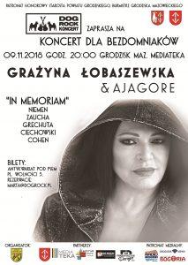 Koncert dla Bezdomniaków! @ Mediateka | Grodzisk Mazowiecki | mazowieckie | Polska