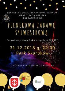Plenerowy Sylwester @ Park Skarbków