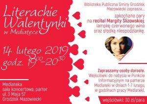 Literackie Walentynki @ Mediateka