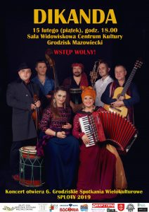 DIKANDA - koncert @ Centrum Kultury - sala widowiskowa
