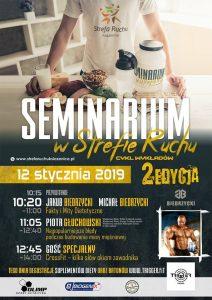 Seminarium dietetyczno-sportowe @ Strefa Ruchu Książenice