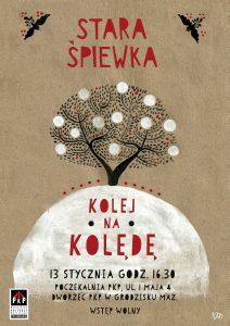 Kolej na kolędę - koncert Starej Śpiewki @ Poczekalnia PKP