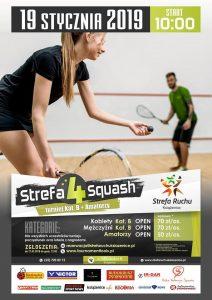 Strefa4Squash - turniej squash @ Strefa Ruchu Książenice