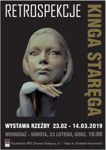 Wernisaż wystawy rzeźb Kingi Staręgi @ Poczekalnia PKP