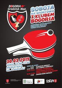 Sportowa Sobota z Klubem Bogoria Grodzisk Mazowiecki @ Mediateka Grodzisk Mazowiecki