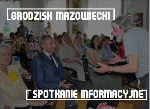 Spotkanie informacyjne w Grodzisku Maz. @ Mediateka, sala komputerowa II p.