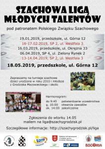 Finał Szachowej Ligi Młodych Talentów @ Przedszkole im. Króla Maciusia Pierwszego