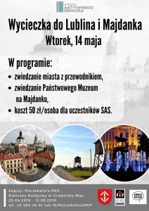 Wycieczka do Lublina + Majdanek @ Centrum Kultury w Grodzisku Mazowieckim