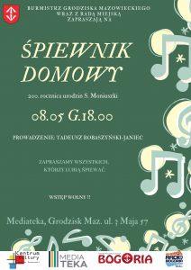 Śpiewnik Domowy - MEDIATEKA - prowadzenie Tadeusz Robaszyński-Janiec @ Mediateka