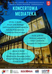 "Koncertowa Mediateka - ""Koncert wiosenny"" - chór Cantata @ Mediateka"