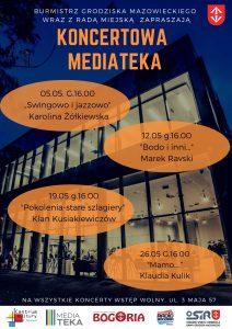 """Koncertowa Mediateka - """"Swingowo i jazzowo"""" @ Mediateka"""
