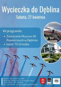 Wycieczka do Dęblina @ Centrum Kultury w Grodzisku Mazowieckim
