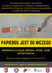 PAPIEROS JEST DO NICZEGO @ MEDIATEKA
