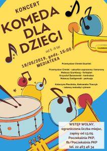 Koncert Komeda dla dzieci @ Mediateka