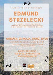 Śladami Polskich Pionierów - Edmund Strzelecki @ Poczekalnia PKP