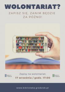 Spotkanie wolontariatu @ Biblioteka Publiczna
