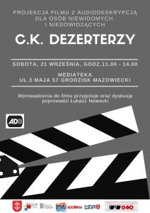 C.K.DEZERTERZY @ Mediateka