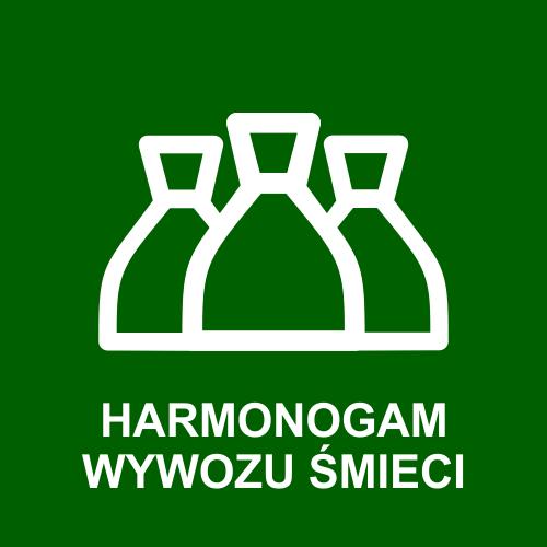 Harmonogram wywozu śmieci