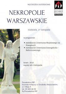 Wycieczka Nekropolie Warszawskie @ Centru Kultury w Grodzisku Mazowieckim