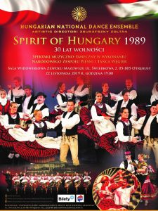 """Spirit of Hungary 1989 - 30 lat wolności @ Sala Widowiskowa Zespołu """"Mazowsze"""""""