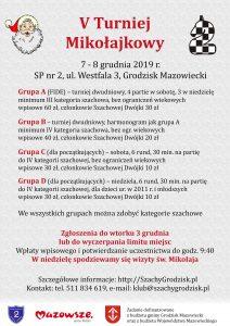 V Turniej Mikołajkowy @ Szkoła Podstawowa nr 2