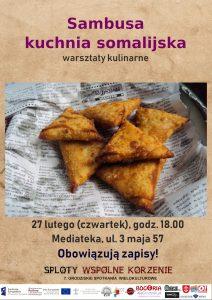 Warsztaty kulinarne - Mediateka
