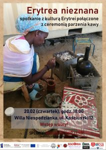 Erytrea nieznana - spotkanie w Willi Niespodzianka