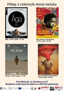 Filmy z czterech stron świata - Rzeka - Kino Wolność