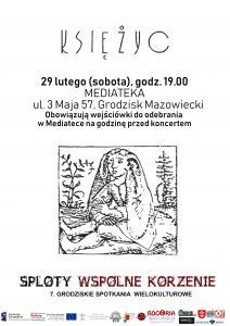 Koncert zespołu Księżyc - Mediateka