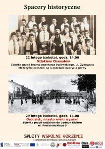 Spacer historyczny Szlakiem Chasydów