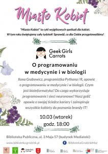 Miasto Kobiet: o programowaniu dla Kobiet @ Biblioteka Publiczna