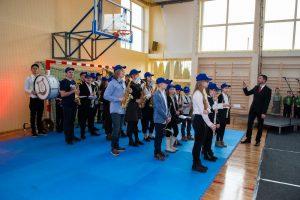 Zdjęcie z występu młodzieżowej orkiestry