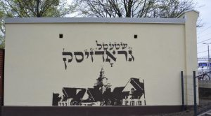 Mural przy stacji PKP