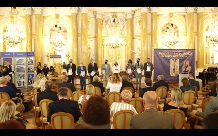 Wręczenie nagród w konkursie Modernizacja Roku 2019 na Zamku Królewskim w Warszawie